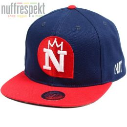 Šiltovka Snapback Nuff Wear - Navy & Red