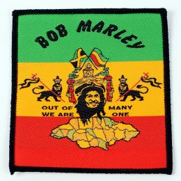 Nášivka Bob Marley /Out of many we are one