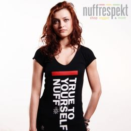 Top - True To Yourself - Nuff Wear 0813 - black